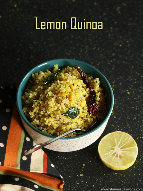 lemon quinoa recipe