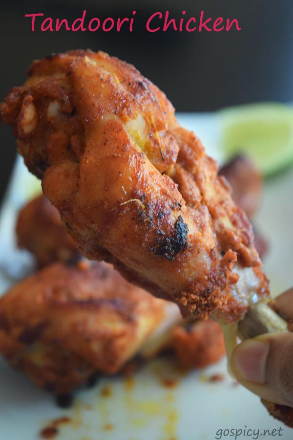 Tandoori Chicken Recipe by GoSpicy.net