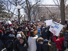 March For Our Lives student protest for gun reform