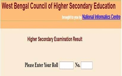 West Bengal Board Class 12 Result 2018