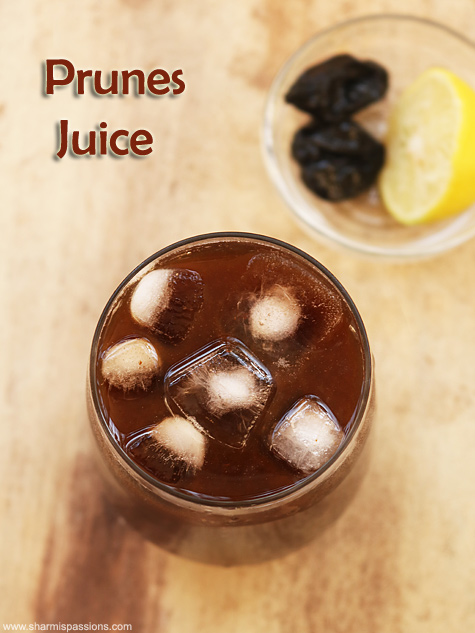 prunes juice recipe