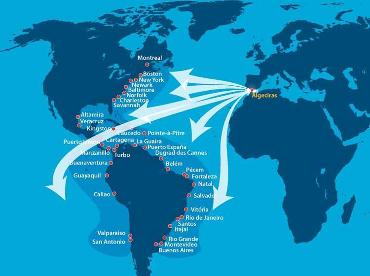 Conectividad Algeciras-América3