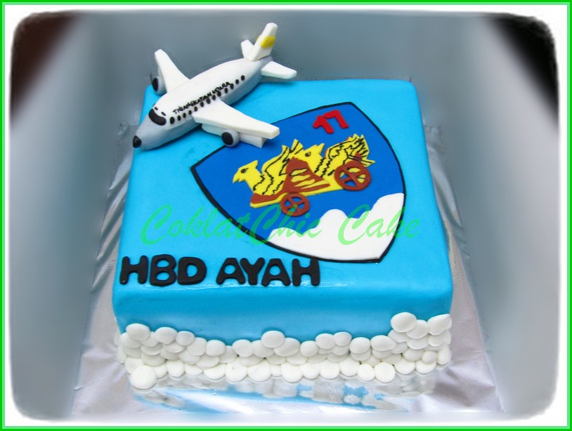 Cake Skuadron AU AYAH 20 cm