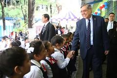 VICEPRESIDENTE APOYA CAMPAÑA NACIONAL DE VACUNACIÓN PARA LA PREVENCIÓN DE CÁNCER DE MATRIZ.