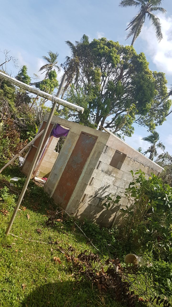 Clean up from Cyclone Gita