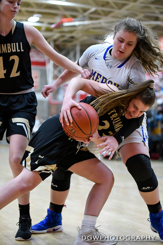 Trumbull vs. Mercy - High School Girls Basketall