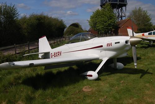 G-BXRV Van's RV-4 [PFA 181-12482] Popham 020509