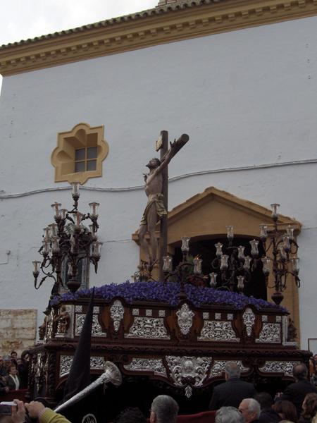 Hermandad Obrera de Apostolado y Penitencia del Santisimo Cristo del Perdón y María Santísima de la Amargura. (Muchachos de Consolación).