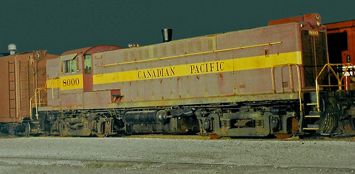 canadianpacific cpdrs410008000 canadianpacificrailway cp builybybaldwin builtjan1949 builtascp8000 redyellow railroadyard railroadtrack steamtown scranton lackawannacounty pennsylvania pa delawarelackawannawesternyard dlwrailroadyard railroadmuseum unitedstates usa us america nationalparkservice historicsite scrantonyards steamtownnationalhistoricsite nationalregisterofhistoricplaces dicksonmanufacturingco trains locomotives diesel diesellocomotive dieselengine
