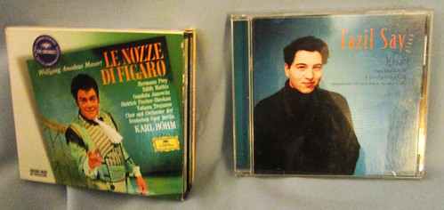 Lot of 2 Wolfgang Amadeus Mozart Classical Music CDs