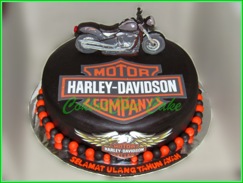 Cake Harley Davidson AYAH 30 cm