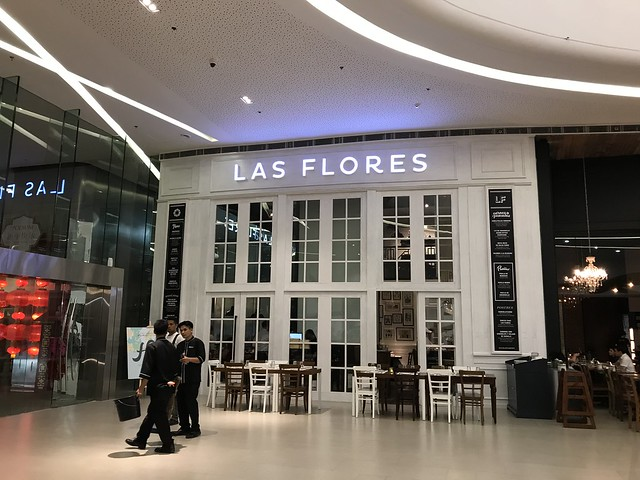 Podium Mall,  Las Flores Restaurant