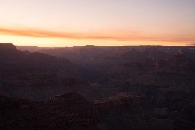 Afternoon Rays - The Grand Canyon