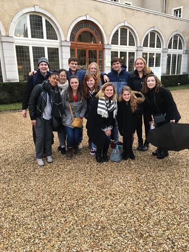 Spring 2018 Dijon Study group - photo by Prof. John Naughton 1