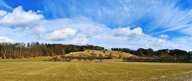 A German farmstead near Seelfingen