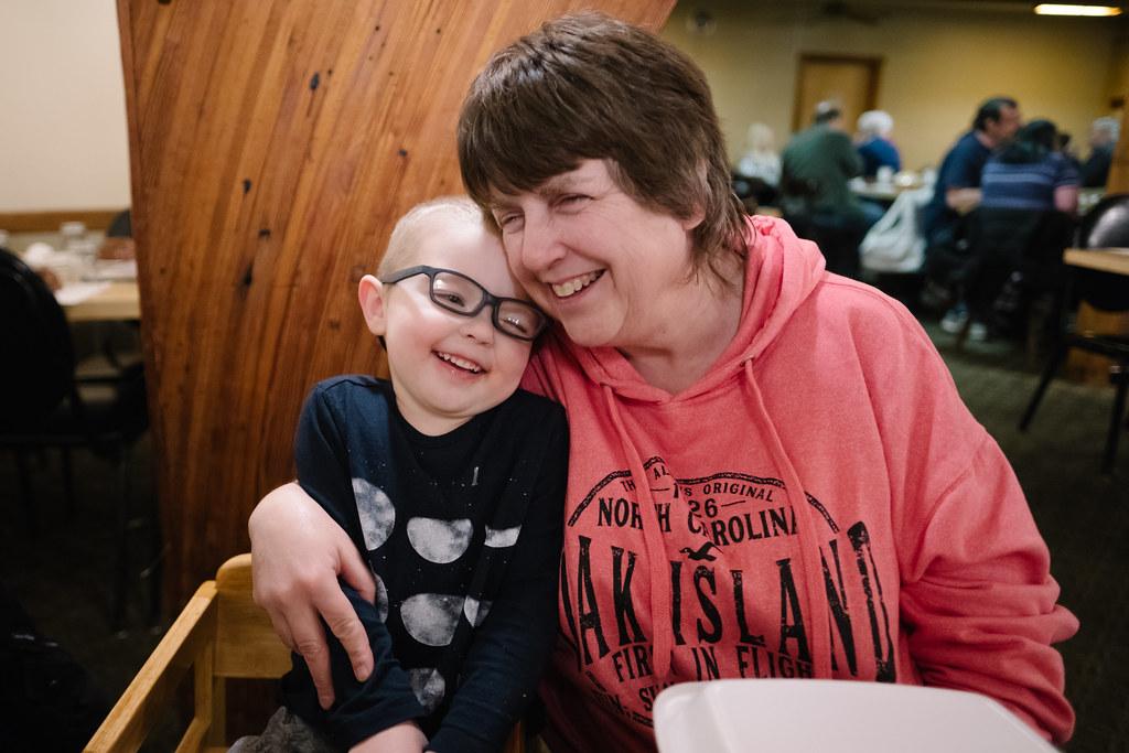 Ezra and Grandma