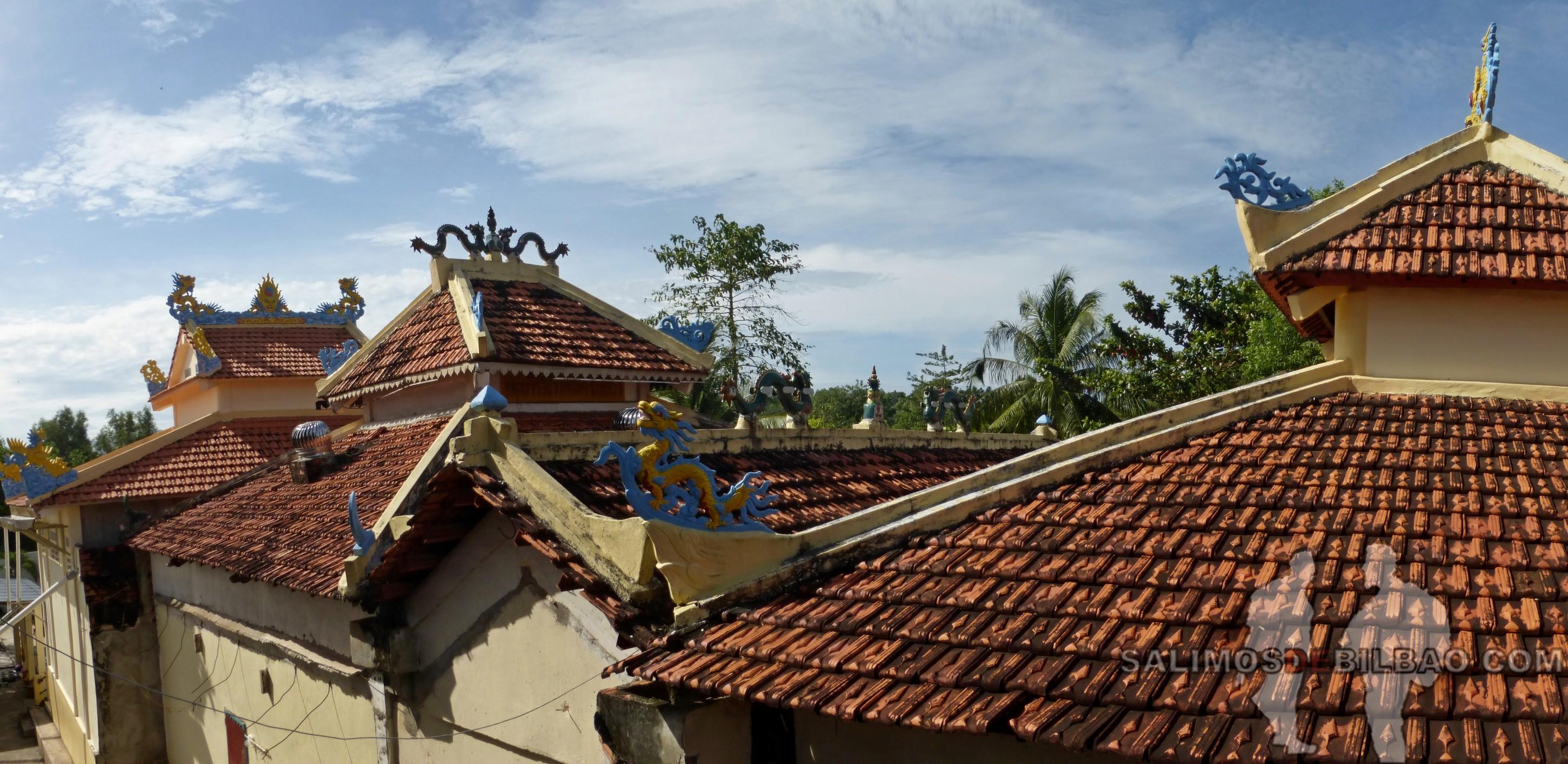 0131. Pano, Pagoda Dinh Nguyen Trung Truc, Noreste de Phu Quoc
