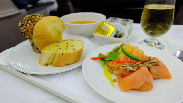 Business Class In-flight Meal - Malaysia Airlines