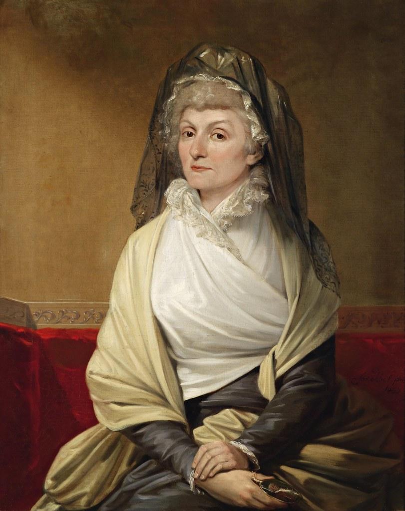 Josef Abel - Portrait of a Lady (1800)