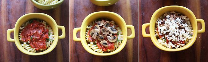 How to make mushroom pasta bowl recipe - Step6