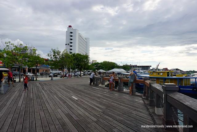 Kota Kinabalu Waterfront Boardwalk