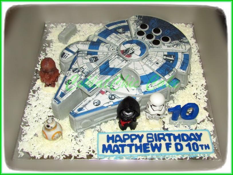 Cake Millenium Falcon MATTHEW 24 cm