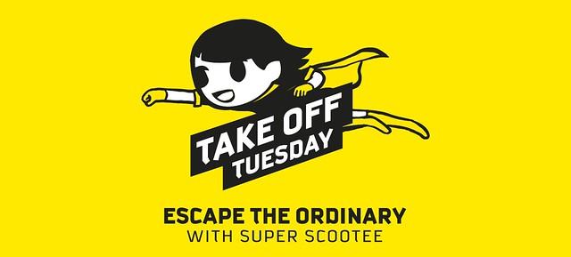 Scoot Escape the Ordinary Promo