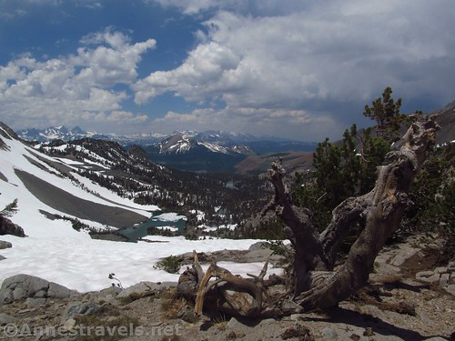 Views north from Duck Pass, Inyo National Forest, California