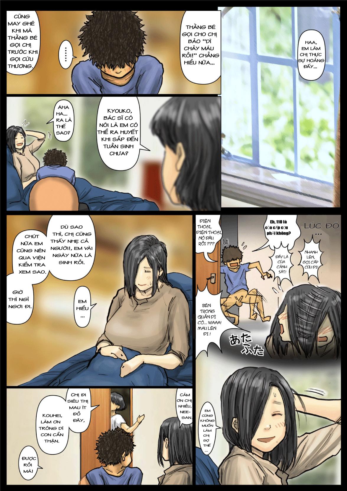 HentaiVN.net - Ảnh 46 - Oba-san no Karada ga Kimochi Yosugiru kara 2 - Boku no Oba-san wa Chou Meiki Datta 02 - Chap 03