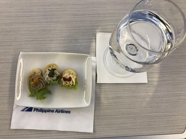 PAL flight 720  appetizer