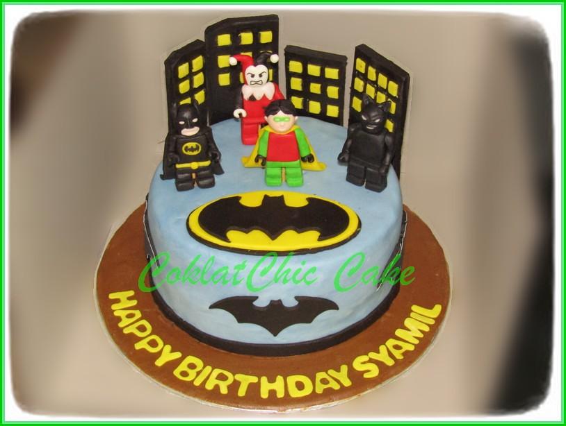 Cake Batman SYAMIL 15 cm