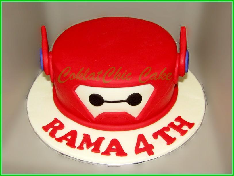 Cake BayMax RAMA 15 cm