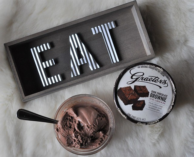 Graeter's Dark Chocolate Brownie Ice Cream