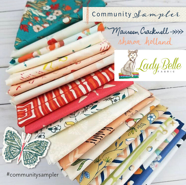 A Community Sampler Giveaway with Lady Belle