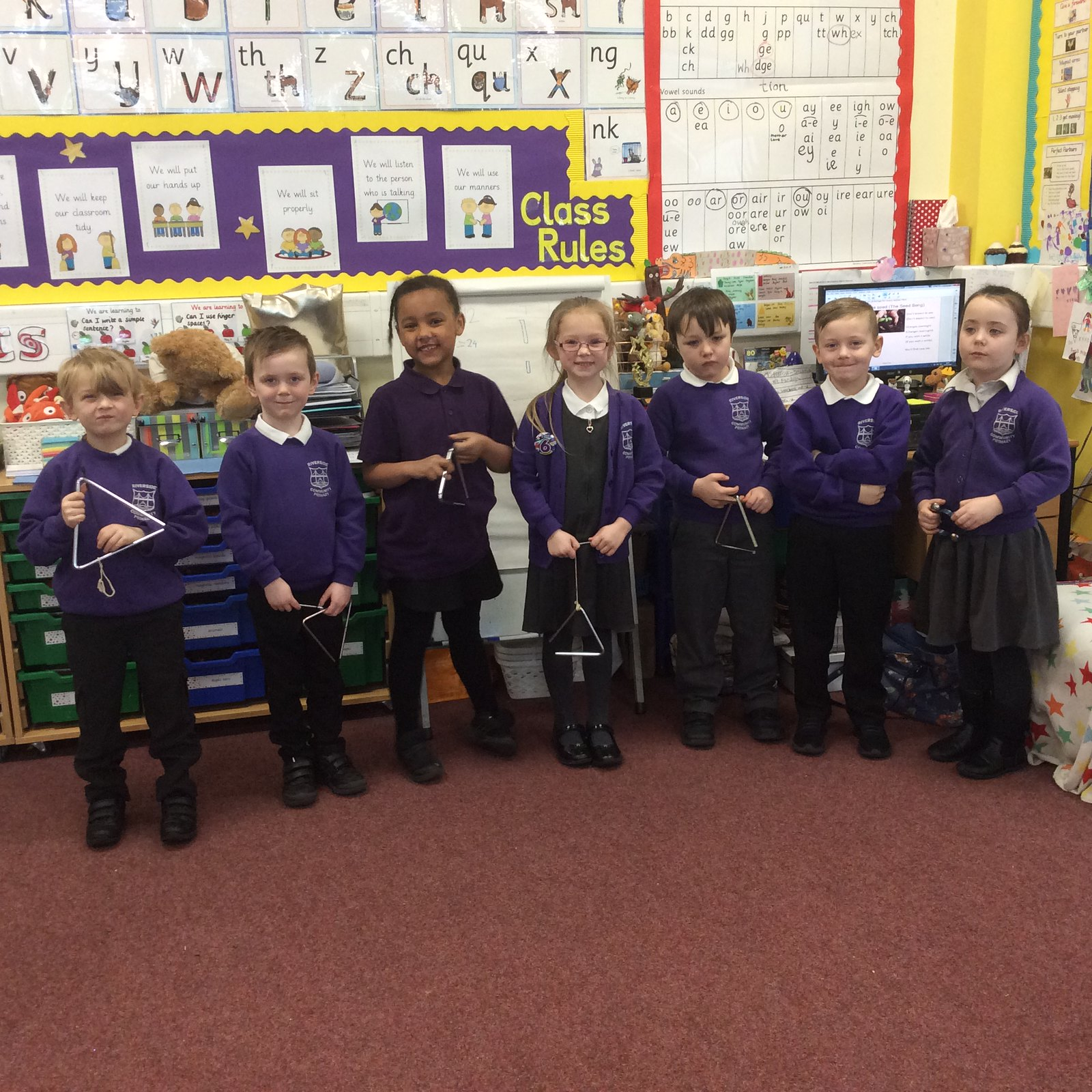 Year 1 'Plant a little seed' performances