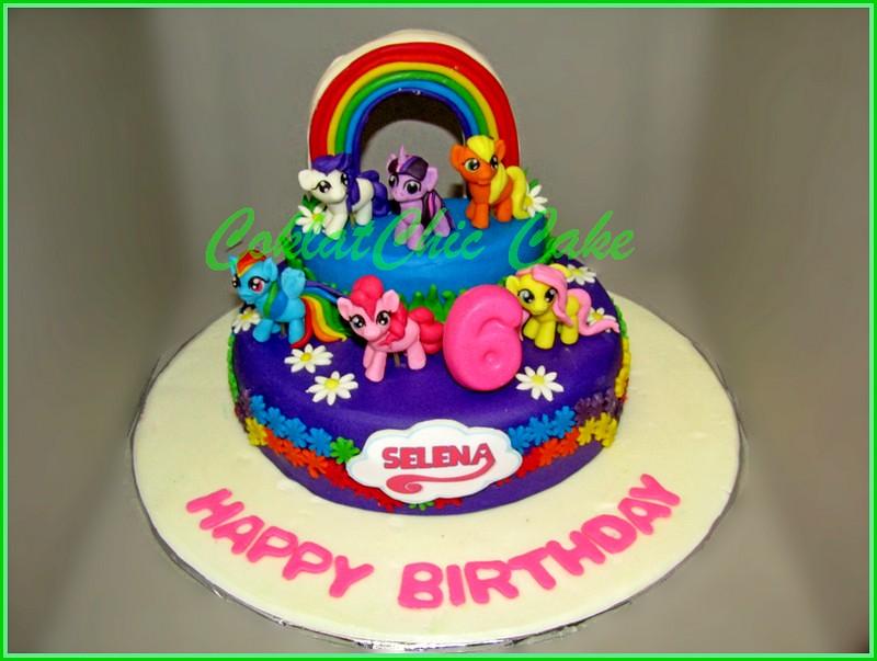 Cake My Little Pony SELENA 15 cm