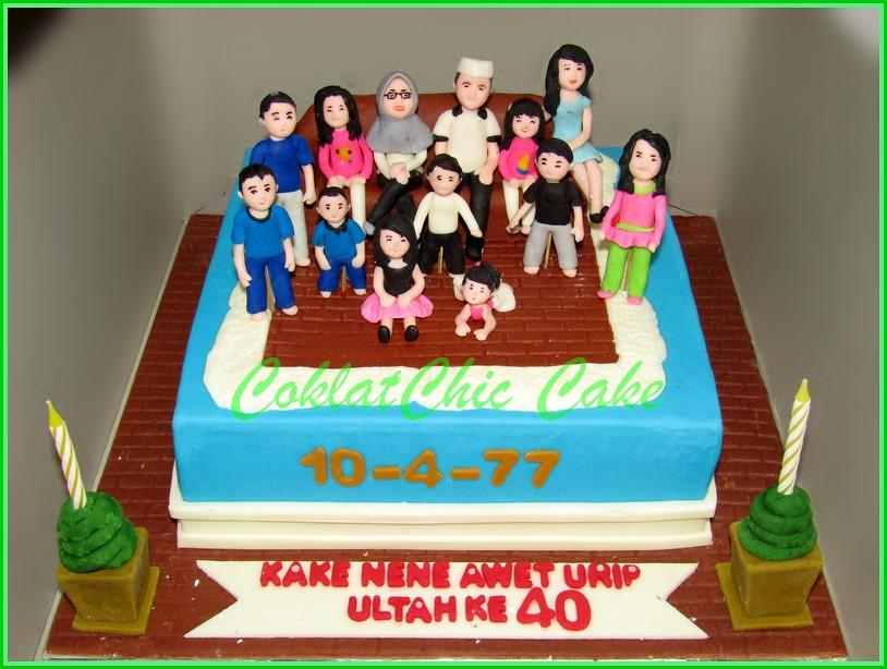 Cake Family KAKE NENE 20 cm