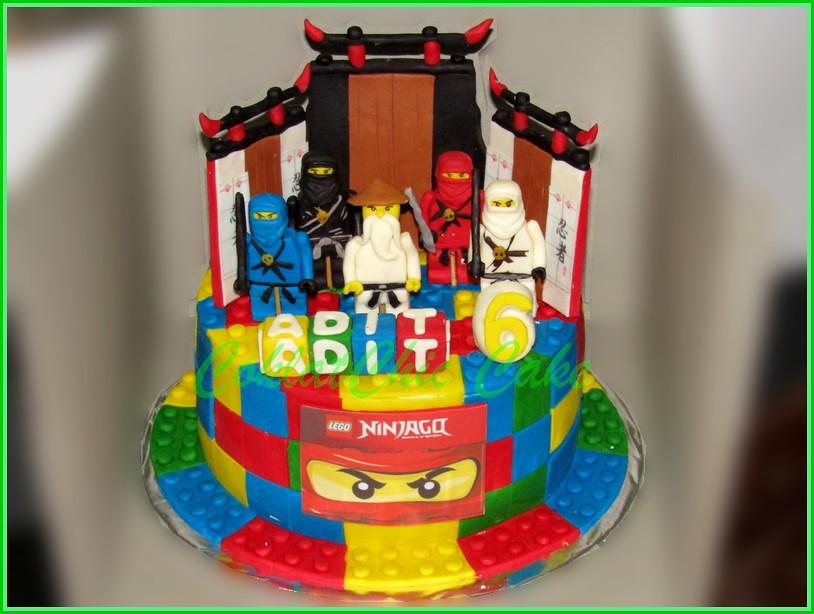 Cake Ninjago ADIT 18 cm