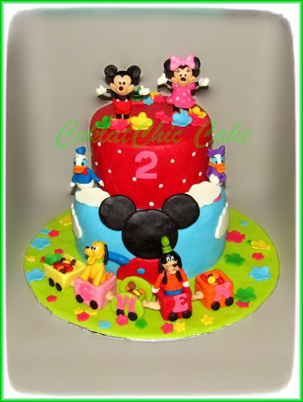 cake minnie mouse  GWEN 15 cm +12 cm