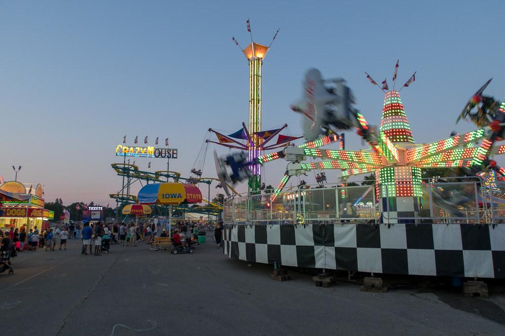 Iowa State Fair Rides