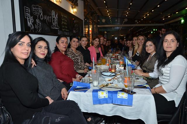 MK Estetik ailesi de Mezza'da 8 Mart'ı kutladı.