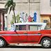 CUBA Cienfuegos Coche Rojo