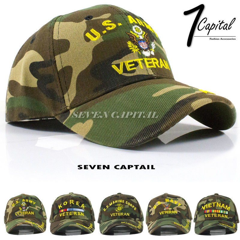 926e6a11d06 US Tactical Operator Army Navy Marine Air Veteran Camouflage Baseball Hat  Cap
