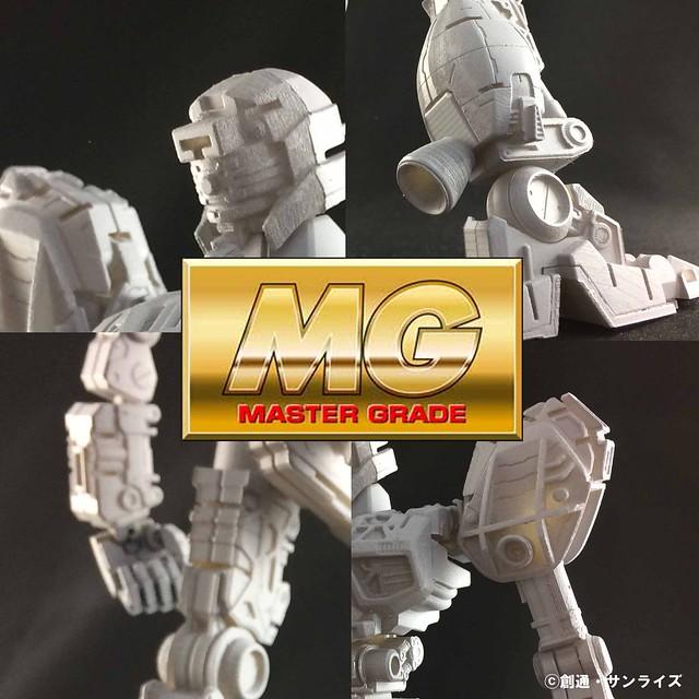 《機動戰士鋼彈》鋼普拉 MG 系列新機開發中,試作品骨架搶先公開!
