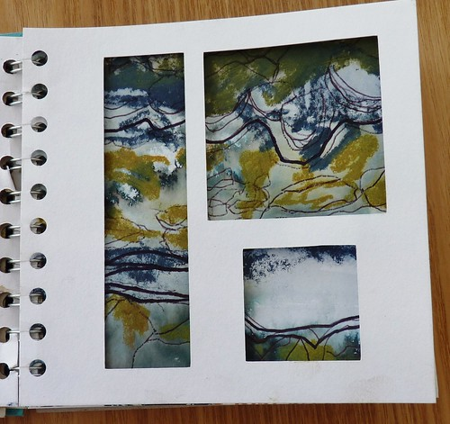 Sketchbook pages from Kiln Fired Art