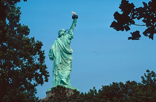 Statue of Liberty - Kodachrome - 1987 (4)