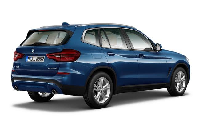 [新聞照片二] 全新BMW X3 xDrive20i閃耀登場。