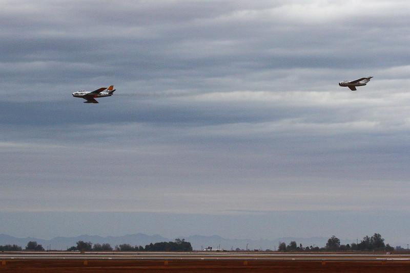 IMG_1555 F-86 vs MiG-15