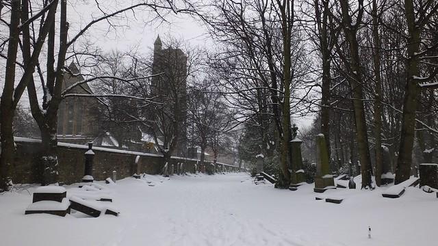 Boneyard in the snow 01