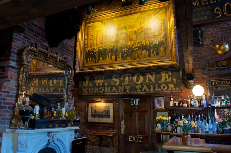 Saloon Restaurant Philadelphia PA Retro Roadmap 2018